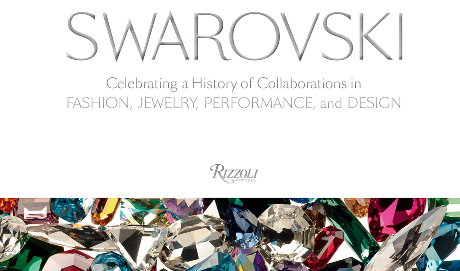 Swarovski book rizzoli on aura tout vu cover