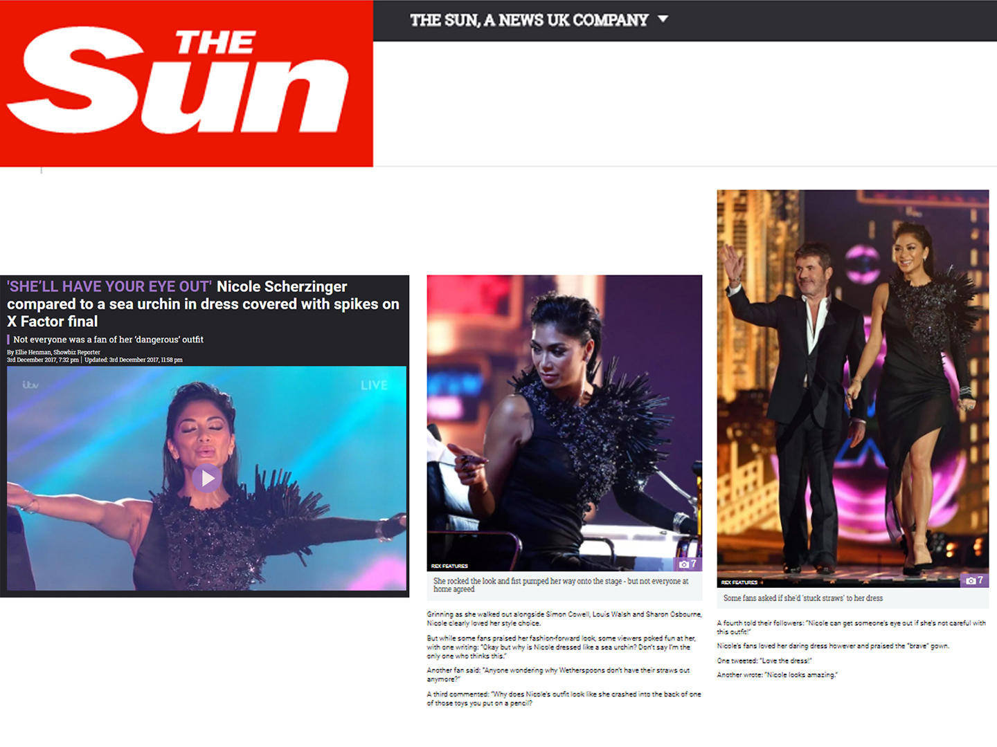 thesun co uk nicole scherzinger dresed by on aura tout vu x factor