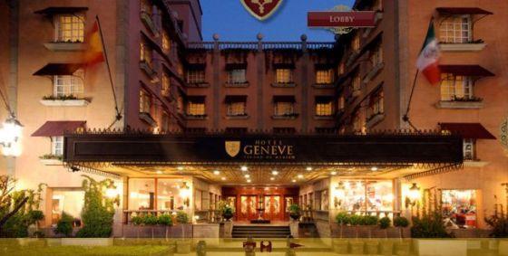 Hôtel Geneve, Mexico, lumières, fenêtres