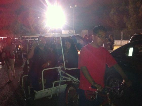 lumière, mexico, vélo, rouge, teeshirt