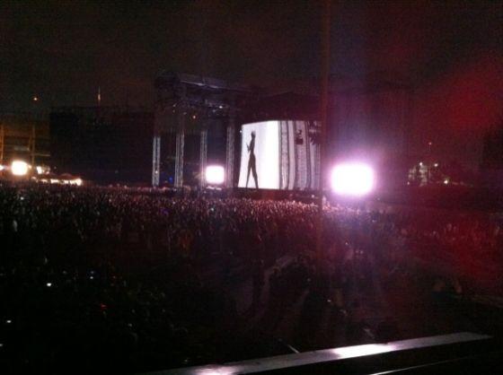 concert, monster ball tour, lady gaga, public, spot, foule