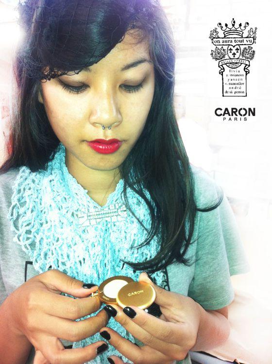 Caron, on aura tout vu, cadeau parfum FW 2012