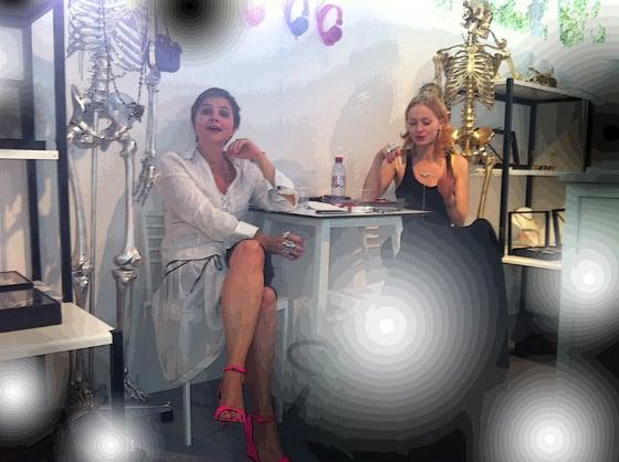 Salon Premiere Classe Jardins de Tuileries a paris Livia Stoianova et Antonia Simeonova