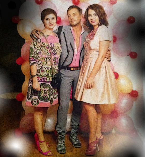 Livia Stoianova Yassen Samouilov et Nathalie Colin a la presantation de  Swarovski swing swing &Shine