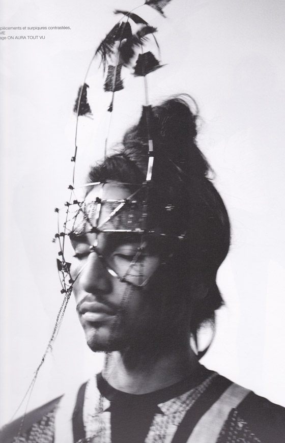 soon magazine dior homme et bijoux de  visage on aura tout vu