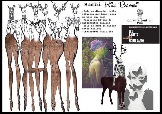 Bambi for kill bambi by on aura tout vu pour ballet de montecarlo