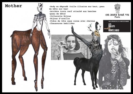 costummes Kill Bambi  Mother on aura tout vu  yassen samouilov livia stoianova ballet de montec