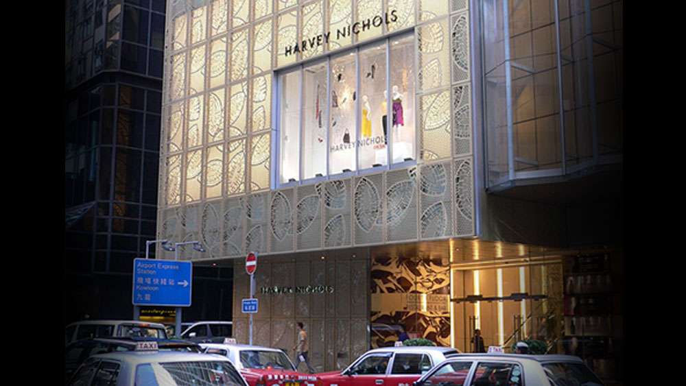 Harvey Nichols Central Hong Kong and on aura tout vu