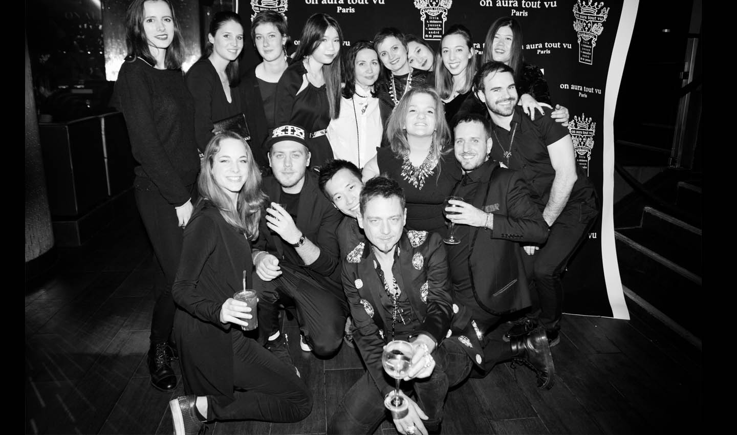 on aura tout vu aftershow couture ss16 aux Queen club paris staff