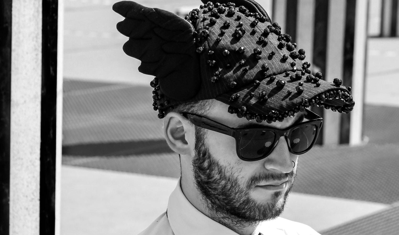 casquette couture noir blanc broderies on aura tout vu