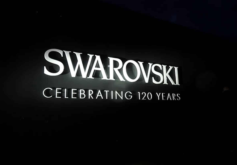 120 years swarovski