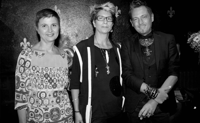Livia Stoianova Yassen samouilov Lydia Kamitsis aux vernissage on aura tout vu de la tour jean sans peur