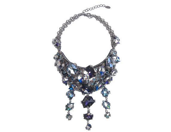 necklace by on aura tout vu for swarovski ss18 Chris Bangle