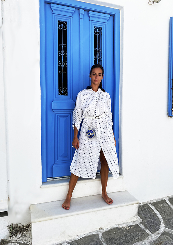 shirt ON AURA TOUT VU Resort collection 2020 Paros Naoussa Cyclades Greece