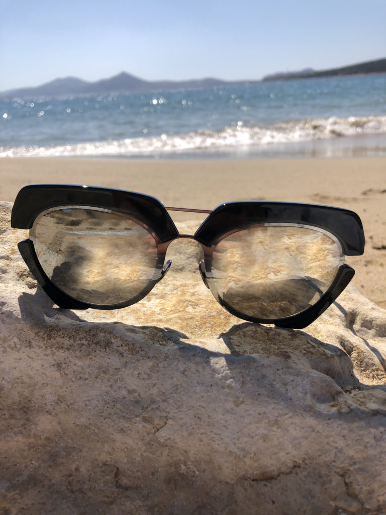 sunglases ON AURA TOUT VU Resort collection 2020 Paros Naoussa Cyclades Greece
