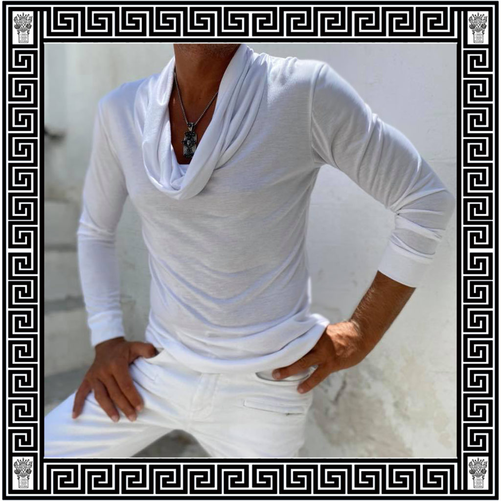 mens top ON AURA TOUT VU Resort collection 2020 Paros Naoussa Cyclades Greece