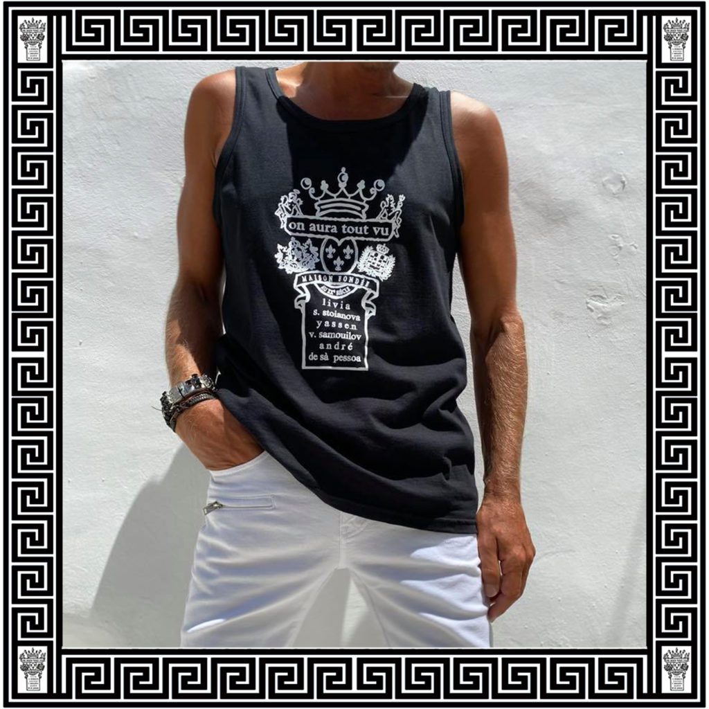 logo top ON AURA TOUT VU Resort collection 2020 Paros Naoussa Cyclades Greece