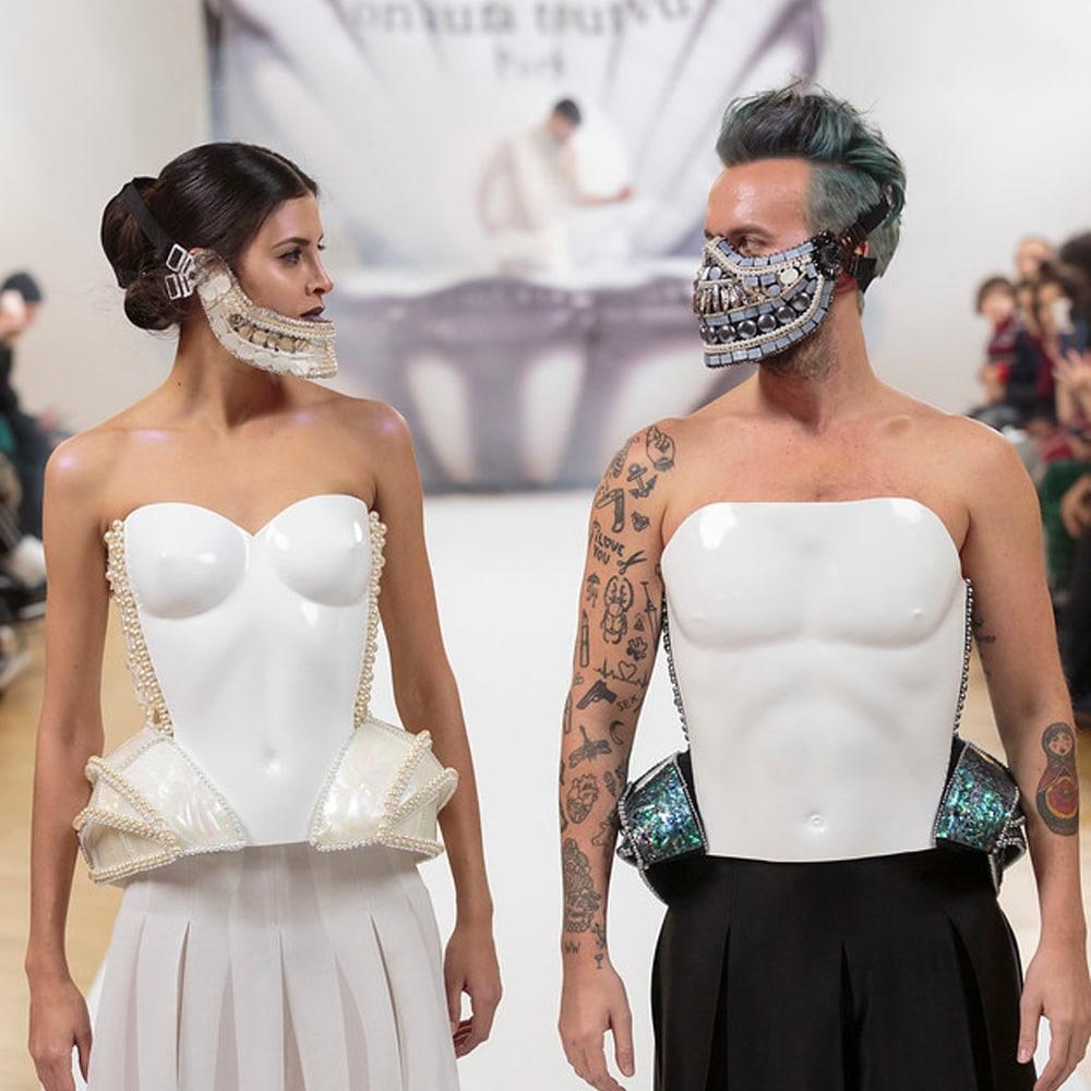 on aura tout vu body sculpted corset spring summe 2017